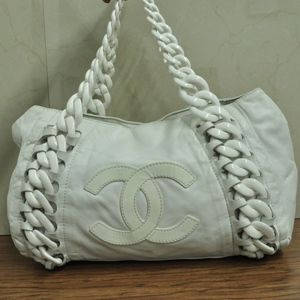 f89407f3d500 CHANEL Bags - CHANEL luxury line Plastic chain Shoulder Tote Bag
